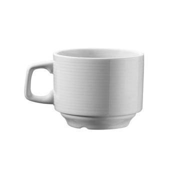 šolja za čaj i belu kafu sa tacnom 250 ml du-13
